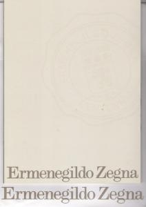 Ermenegildo Zegna 1910-2010 100YearsCentennial